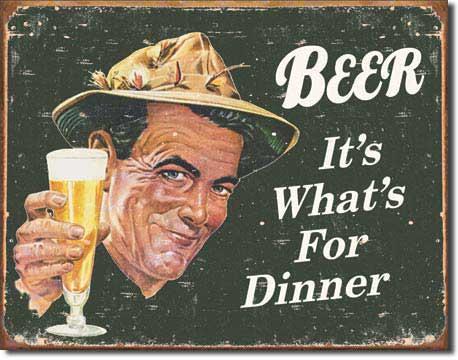 8 geniales carteles vintage de cerveza