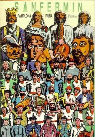 San Fermín: 10 curiosos carteles antiguos de Sanfermines