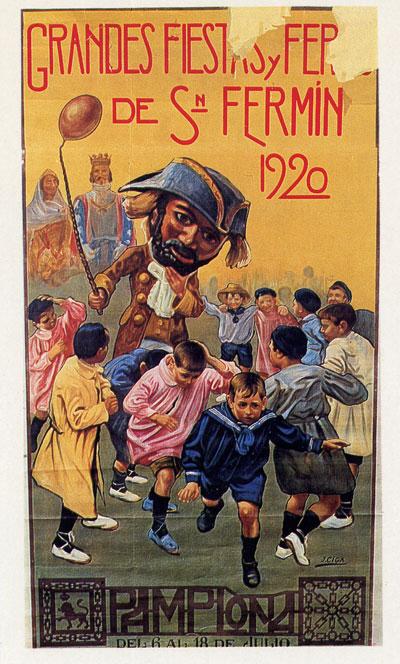 sanfermines 1920